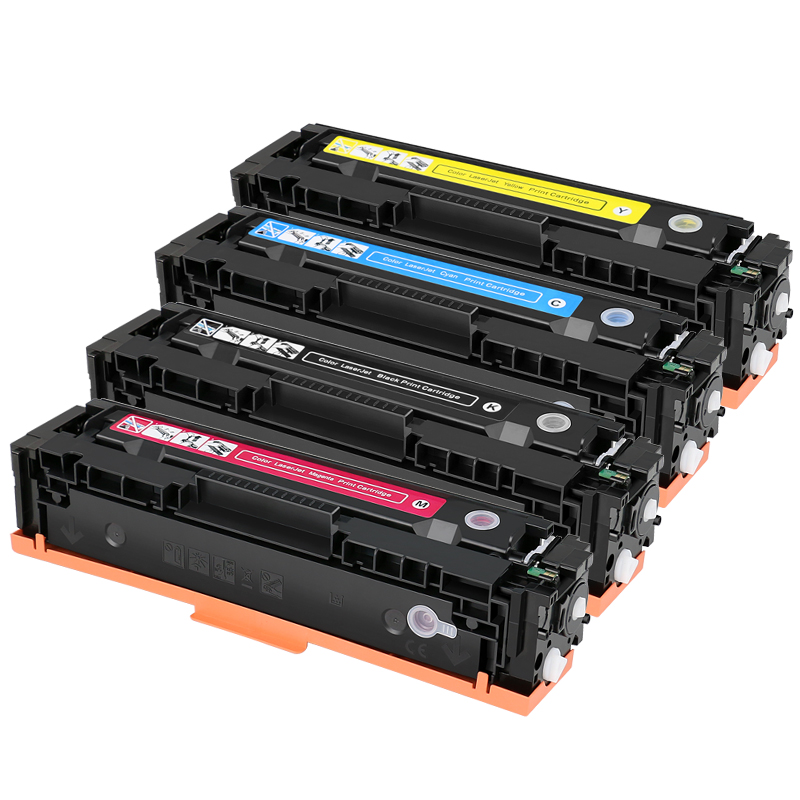 4pcs CRG054 CRG 054 Compatible Toner Cartridge For CANON LBP621Cw LBP623Cdn LBP623Cdw IC MF641Cw MF643Cdw MF645Cx With Chip