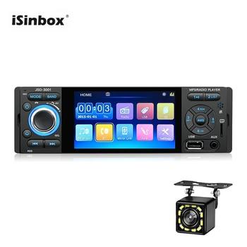 "ISINBOX 4.1"" Car Radio 1 Din Bluetooth Touch Screen Autoradio Mirror Link Car Radio Coche U disk USB TF Card Radios Para Auto"