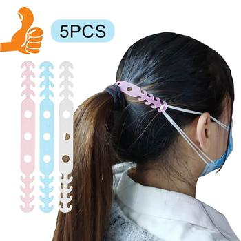 5Pcs Soft Face Mask Ear Hooks Buckle Kids Adjustable Earache Preventions Fixer Baby Health Care Suppies