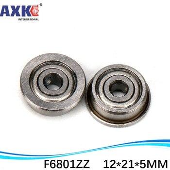 12x21x5 mm Metal Shielded High Precision Ball Bearing 12*21*5 6801ZZ 10 PCS