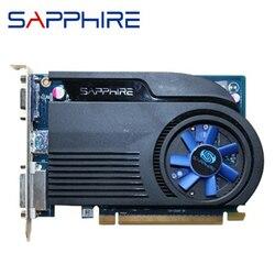 ZAFFIRO HD6570 1GB DDR3 AMD Scheda grafica GPU Radeon HD 6570 Schede Video Del Computer Dell'ufficio Per AMD Scheda di Carta HDMI A risparmio energetico