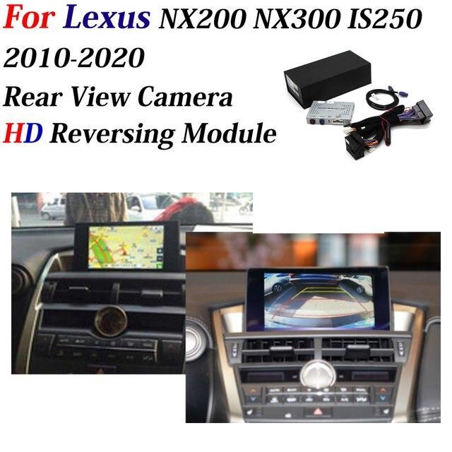אוטומטי מצלמת לקסוס NX200/NX300/IS250 2010 ~ 2020 רכב מפענח מול & אחורי מצלמה מתאם מקורי מסך חניה הפוך מצלמה