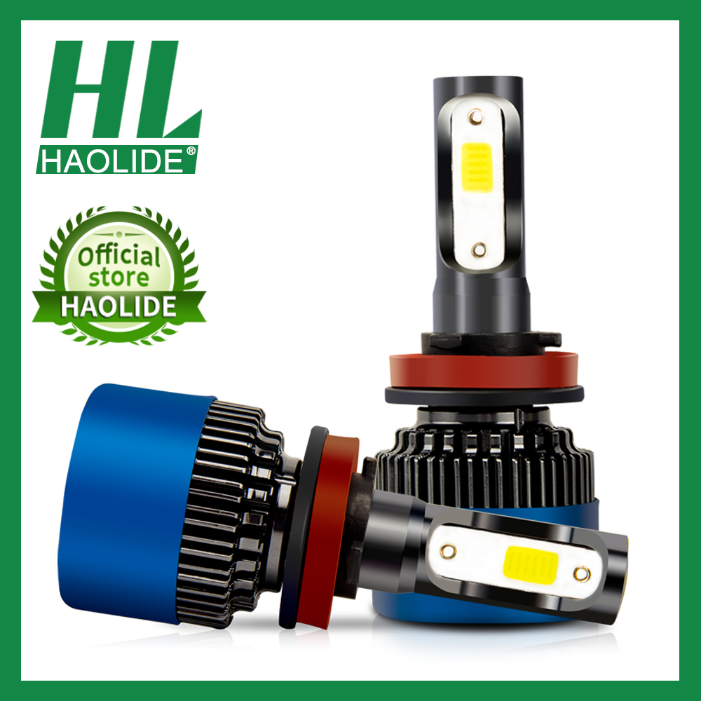 /HL HA CONDOTTO LA Lampadina Del Faro H3 H4 H7 H8 H11 H1 H13 9005 HB3 9006 HB4 9004 9007 880 Auto lampada della luce di Nebbia Auto 6000K COB 8000LM 50W 12V