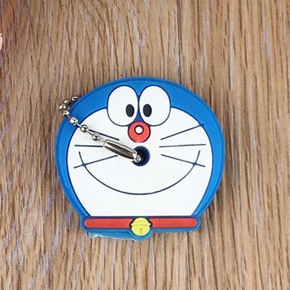 Милый мультяшный силиконовый защитный чехол для ключа для управления ключом пылезащитный чехол-держатель анимационные фигурки Подвеска для ключа держатель для ключей - Цвет: S