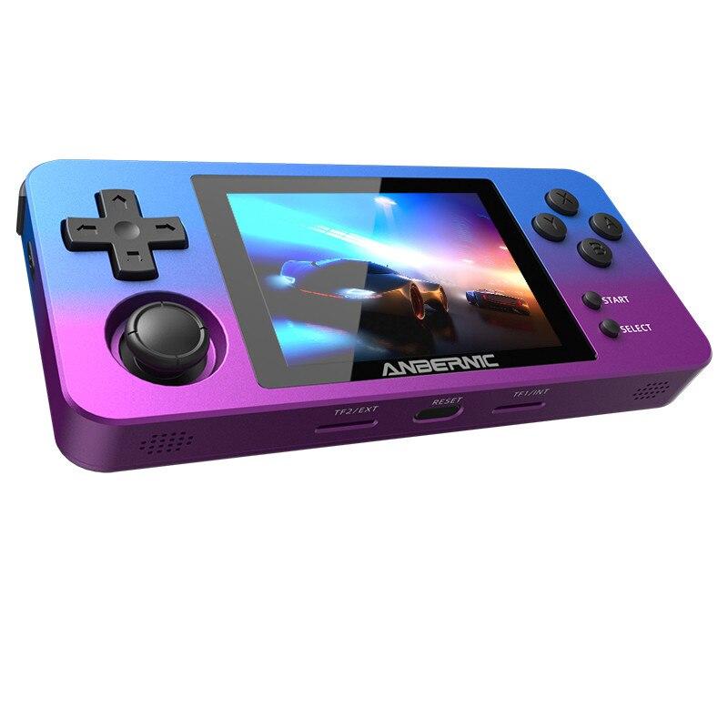 Купить powkiddy rg280m ретро портативная игровая консоль металлический