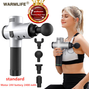 Image 1 - EMS Massage Gun Cordless Rechargeable Muscle Stimulator Deep Tissue Massager  Body Relaxation Slimming Shaping Pain Relief