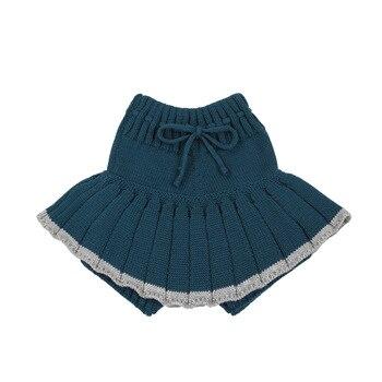 Baby Girl's Knitted Short Skirt 2