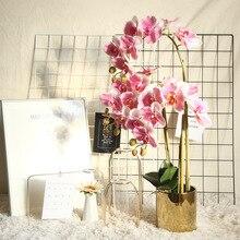 Phalaenopsis Artificial Flower Plant Bonsai Wedding Decoration INS Wind Simulation Plant Wall Home Rose artificial fog smog artificial flower wedding decoration wind simulation artificial wall