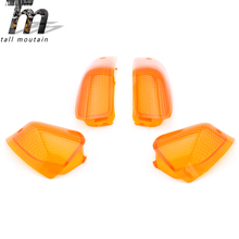 Front/Rear Turn Signal Lamp Cover For KAWASAKI ZZR 400 1993-2006 ZZR 600 1993-2008 Motorcycle Accessories Signaling Cap Moto недорого