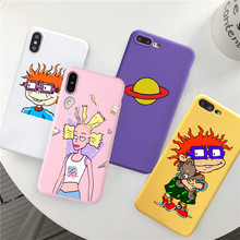 GYKZ Cartoon Rugr Amine Fitted Case For iPhone 11 Pro XS MAX XR X 7 6 6s Plus Amazing Planet Soft Phone Cover 8 Coque