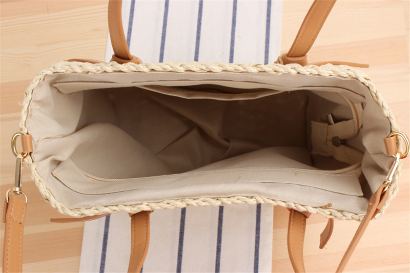 Mini Size Straw Bucket Bag for Summer 2021