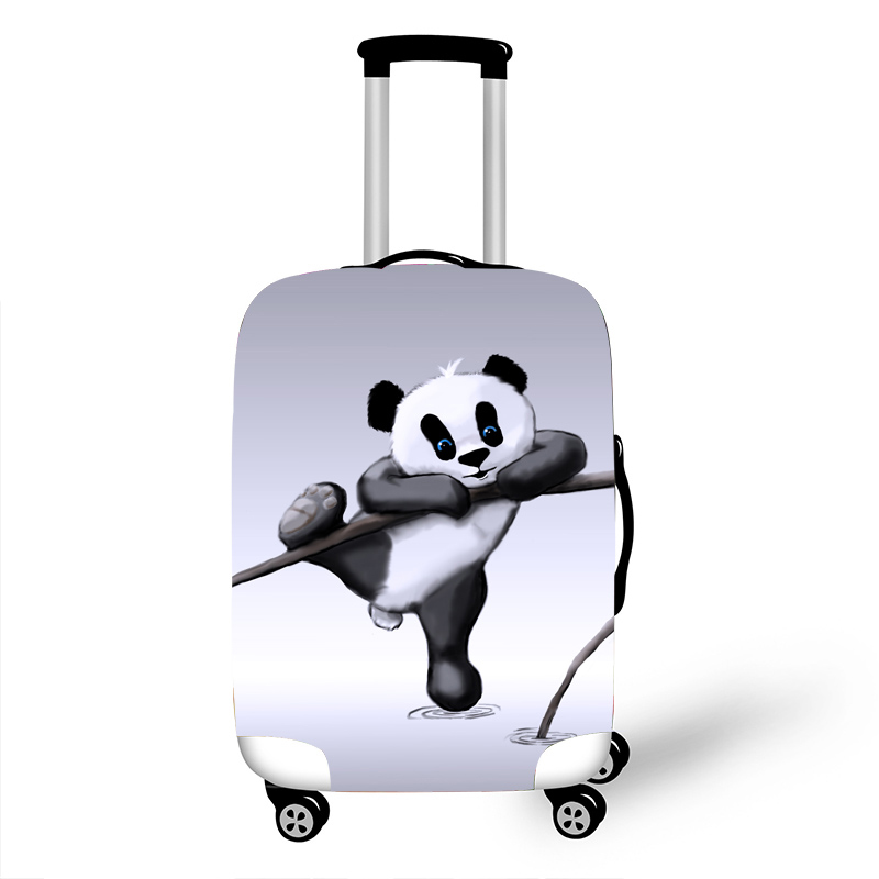 Luggage Protective Cover Case For Elastic 18-32 Inch Suitcase Protective Cover Cases Covers Travel Accessories Kungfu Panda T123