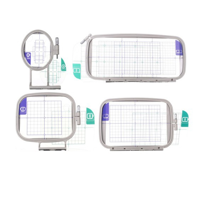 Sew Tech Embroidery Hoops for Brother Embroidery Machine Frames Set Innov-Is 1250 700 PE700 PE700II PE770 PE800 780D
