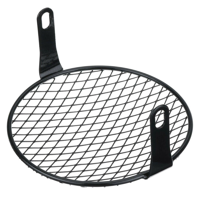 Universal 1pc 7inch Scooter Headlight Mesh Cover Grill 170mm Parts Rhombus Protectors headlamp Guard Motorcycle Accessories