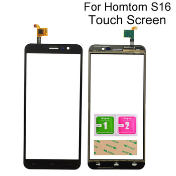 Mobile Touch Panel Sensor For Homtom S16 S 16 Touch Screen Digitizer Front Glass Panel Sensor Tools 3M Glue 6 1 touch screen for ulefone note 7 s11 touch panel touch screen digitizer sensor repair touch glass lens tools 3m glue