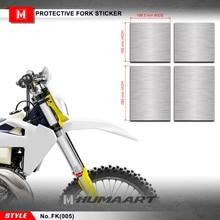 HUMAART Motocross สติกเกอร์โรงงานป้องกันด้านหน้า Suspension สำหรับ Dirt Bikes 125cc, FK005