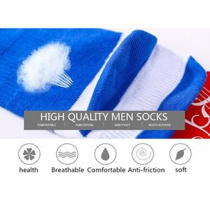 Летние мужские носки 5 парт/Лот, хлопковые мужские короткие носки с пятью пальцами высокого качества