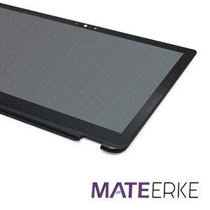 Image 2 - LCD Touch Screen + Rahmen LP156WF5(SP)(A2) für Toshiba Satellite Radius P55W B serie P55W B5114 P55W B5318 P55W B5112