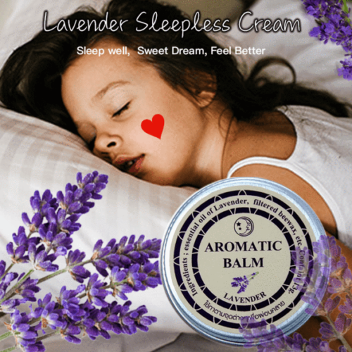 Lavender Sleeping Anshen Sleeping Cream Good Dream Liniment Insomnia 13g Deodorants