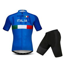 2019 Tour de Italy 19D GEL Cycling Jersey Short Ropa De Ciclismo Maillot ITALIA Clothes Bicycle