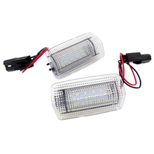 1 Pair 18-SMD LED Door Courtesy Lights For Toyota Land Cruiser 200 Series 150 Series Prado MK4 J150 For Lexus ES240 IS250 free shipping 1 pair rear shock absorber for toyota land cruiser prado 150