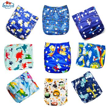 Babyland Bbay Cloth pieluchy 9 sztuk partia zmywalne pieluchy wielokrotnego użytku dla niemowląt kieszonkowe zapobieganie wyciekom wodoodporne 3-15kg dzień i noc tanie i dobre opinie Unisex 3-15 kg CN (pochodzenie) W wieku 0-6m 7-12m 13-24m inne Pielucha Polyester Waterproof Microfleece Washable Baby Cloth Diaper