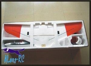Image 2 - Лидер продаж, 4 Канальный Самолет EDF T45, 70 (64 мм), Красная стрела, самолет EPO jet, модель радиоуправляемого самолета, набор хобби, или 3S 64 EDF PNP