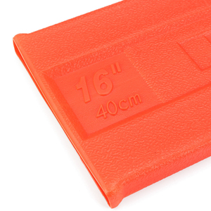 Image 5 - 1x Plastic Orange Chainsaw Bar Protect Cover Scabbard Guard for Stihl Chainsaw Bar Cover Tool Part Accessories