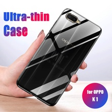 Case For OPPO K1 TPU Silicon Durable Cle