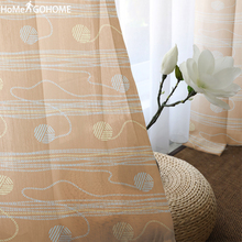Curtains for Living Room Tulle on the Windows Sheer Curtains for Double Room Bedroom Kitchen Decoration Voile Curtain Gardinen цена и фото