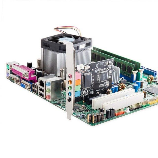 5.1 carte son interne pour PC Windows 10 avec support profil bas, 3D stéréo PCI-E, CMI8738 puce 32/64 bits carte son PCI