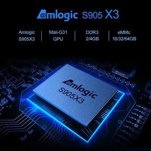 Image 3 - 2020 X96 hava 8K Android 9.0 akıllı TV kutusu 4GB 64GB dört çekirdekli çift Wifi Google oyuncu youtube Set üstü kutusu H96 max X96air KM3