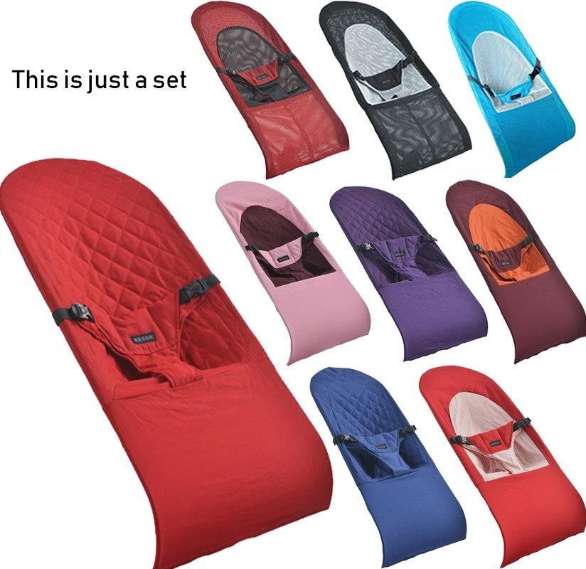 Baby artefakt tröstlich baby stuhl kann sitzen liegen ersatz tuch set baby schaukel stuhl schläfrig coverbaby kind baby wiege bett