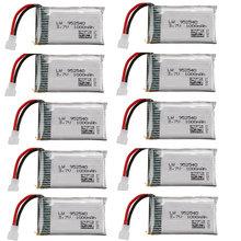 Lipo 3.7v 1000mAh Carregador de Bateria para SYMA KY601S X5 X5S X5C X5SC X5SH X5SW M18 H5P HQ898 K60 HQ-905 10 CX30 bateria 3.7V PCS