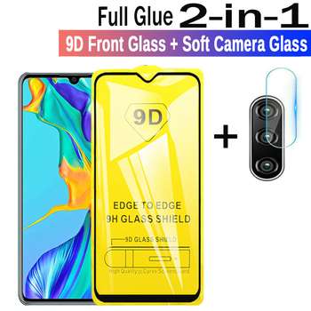 2-in-1 9D Protective Glass for Huawei 30 lite P20 Lite P30 pro P20 pro Glass on Hauwei P30 P20 screen protector Safety Glass Fil image