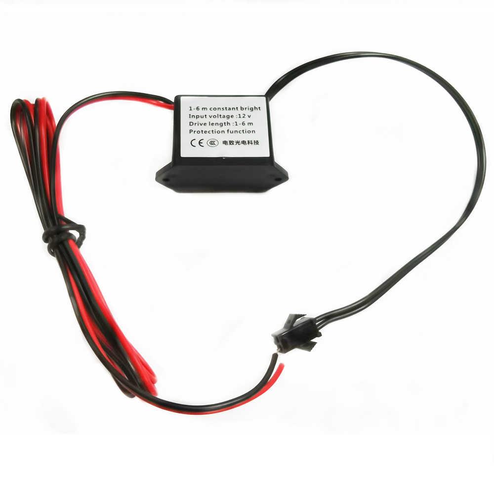 Onduleur 12V avec fonction de protection contre les courts-circuits (pour 1-6 mètres de fil EL)