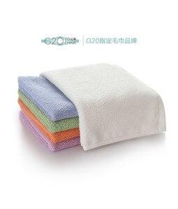 Image 3 - Serviette antibactérienne originale Youpin ZSH Polyegiene Young Series 100% coton 5 couleurs très absorbant bain visage petite serviette