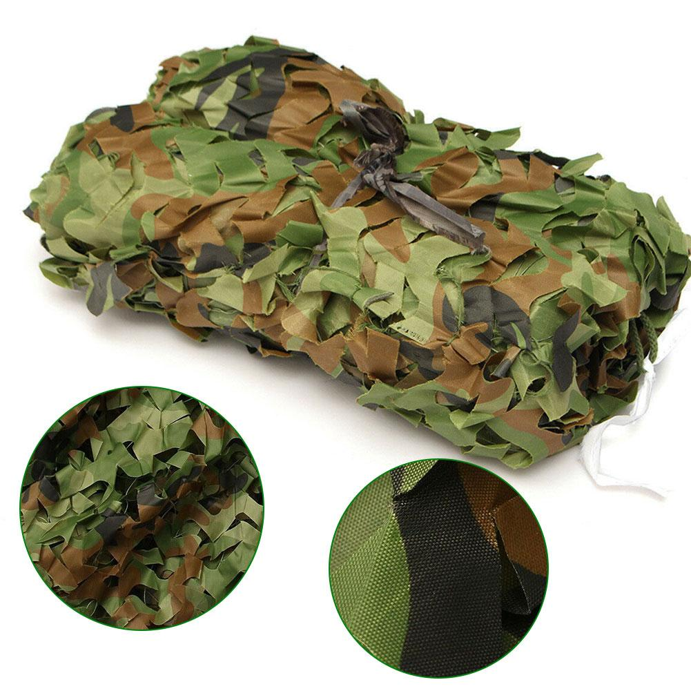 Hunting Army Camo Netting Outdoor Jungle Camouflage Sunscreen Net Woodland Privacy Protection Mesh Forest Shade Tent For Camping