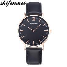 Shifenmei TOP แบรนด์หรูผู้หญิงนาฬิกาแฟชั่นหนังกีฬานาฬิกาควอตซ์นาฬิกาสุภาพสตรีธุรกิจนาฬิกาข้อมือ relogio feminino