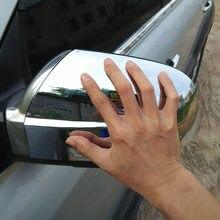 TÜR SEITE FLÜGEL SPIEGEL CHROM ABDECKUNG RÜCKANSICHT Für HYUNDAI TUCSON 2005 2006 2007 2008 Auto Styling