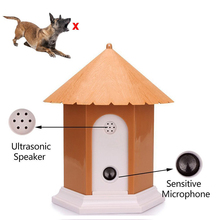 Ultrasonic Anti Barking Device Stop Bark Pet Dog Repeller Trainer Waterproof Outdoor Control Accessories
