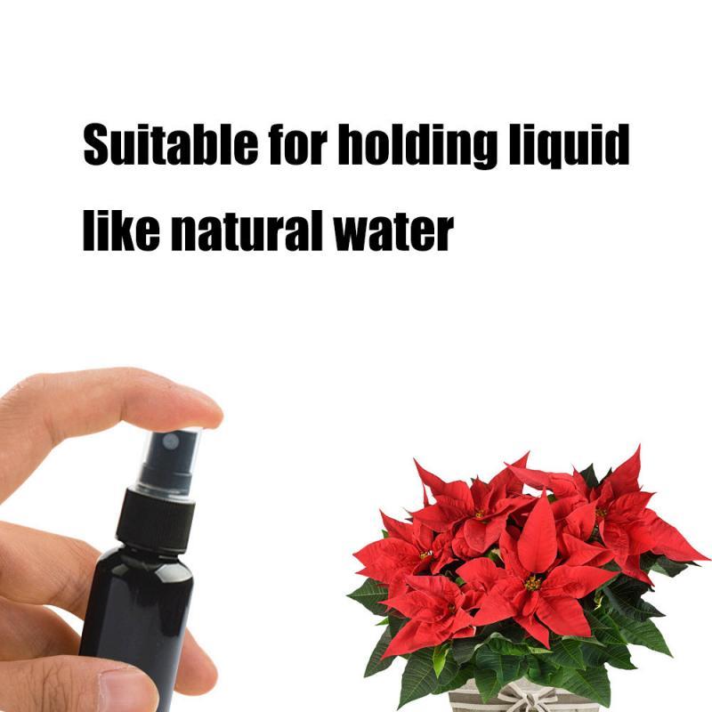 1 Pc Mini Plastic Sprayer White Balck 30/50/100 Ml Small Empty Spray Bottle For Flower Watering Refillable Bottle Garden Sprayer-2