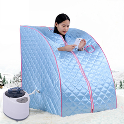 Portable home Steam Sauna Room Beneficial Skin Infrared Detox Weight Loss Calorie Bath SPA with sauna tent sauna accessories HWC