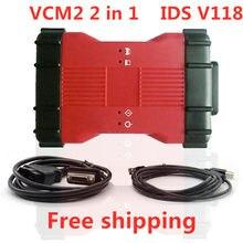 Vcm2 2 em 1 para ford e para mazda ids v118 ferramenta de diagnóstico vcm ii
