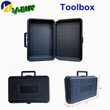 Портативный ящик для инструментов ящик для хранения файлов оборудование ящик для инструментов портативный чемодан черный пластиковый герметичный безопасный портативный ящик инструментов