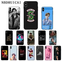 NBDRUICAI American TV, Riverdale Series, Cole Sprouse Phone Case for iPhone 11 pro XS MAX 8 7 6 6S Plus X 5 5S SE XR case nbdruicai american tv series shadowhunters black soft shell phone case for iphone 11 pro xs max 8 7 6 6s plus x 5s se xr case