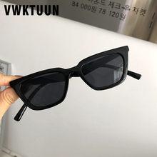 Vwktuun moda óculos de sol feminino vintage colorido óculos de sol cat eye condução motorista tons