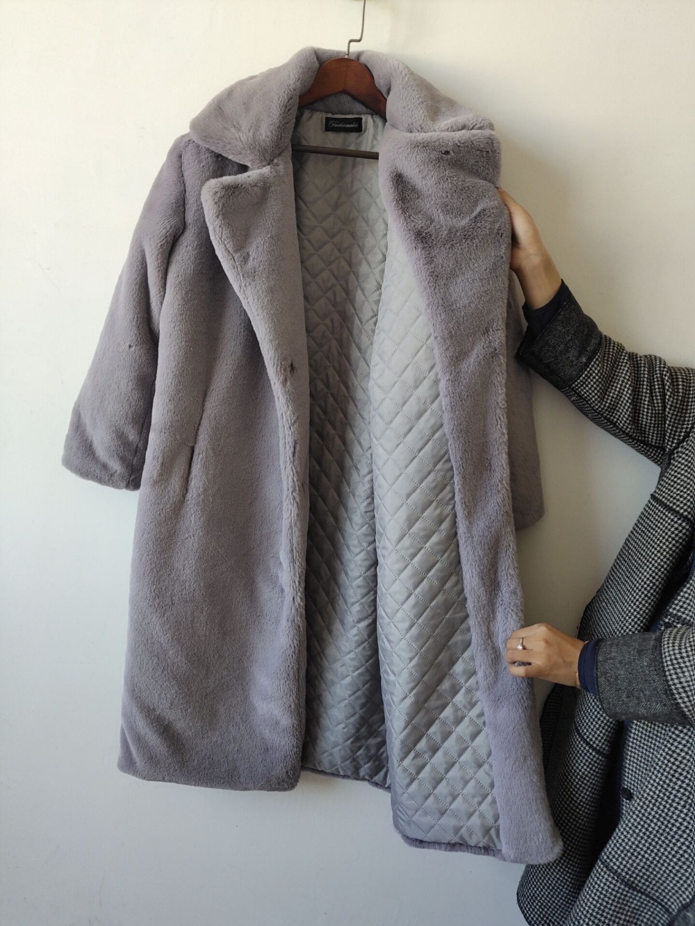 Long Comfortable Loose Winter Coat