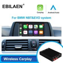 Wireless Carplay Android Auto for BMW F30 F31 F20 F21 F10 F01 X5 E70 X6 E71 X3 F25 F48 E84 MINI NBT EVO System Mirror Link USB