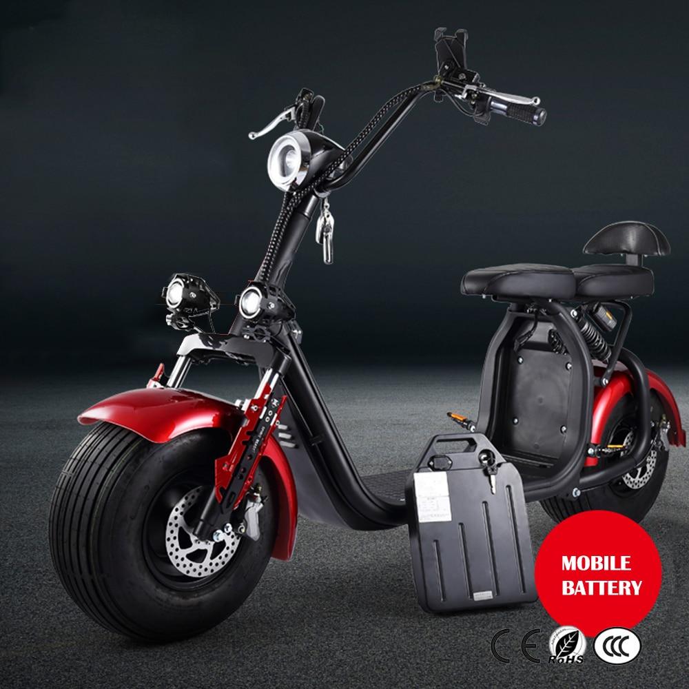 Harley Roller Auto Drive Motor Rad 2000W 60V 72V Hub Motor Elektrische Motorrad Citycoco Roller Elektrische Fahrrad motor Rad - 6